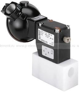 2/2-ходовой или 3/2-ходовой клапан со складным анкером прямого действия, Burkert, тип 0121
