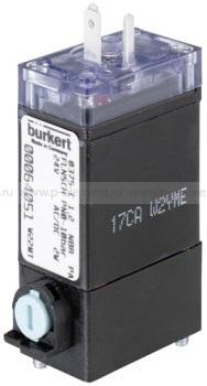 2/2- или 3/2-ходовой качельный пневматический клапан, Burkert, тип 0375
