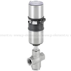 3-ходовой седельный клапан с пневмоприводом серии ELEMENT - тип 2106