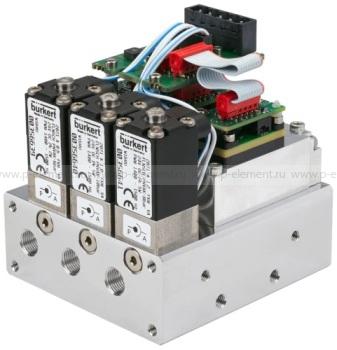Многоканальный регулятор массового расхода (MFC)/массовый расходомер (MFM) для газов, Burkert, тип 8735