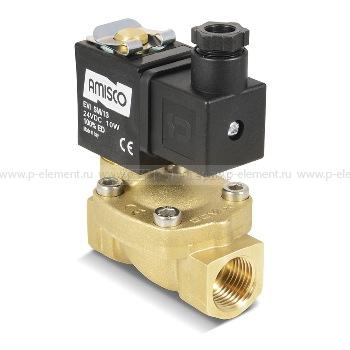 Клапан электромагнитный, GEVAX, 1901R-KBND016-120-24DC