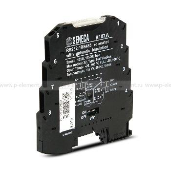 Компактный преобразователь RS-485/RS-485, Seneca, K107A