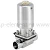 2/2-ходовой пневматический мембранный клапан с приводом из нержавеющей стали - тип 2063