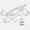 Магнитный датчик положения, геркон, серии DSM №W0950000202