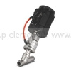 Клапан запорно-регулирующий с позиционером, VALMA, ASV-W-020-SS050-POS-K1