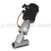 Клапан запорно-регулирующий с позиционером, VALMA, ASV-W-040-SS063-POS-K1