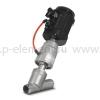 Клапан запорно-регулирующий с позиционером, VALMA, ASV-W-032-SS063-POS-K1
