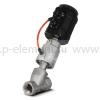 Клапан запорно-регулирующий с позиционером, VALMA, ASV-T-032-AL063-POS-K1