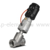 Клапан запорно-регулирующий с позиционером, VALMA, ASV-T-050-AL080-U-POS-K1