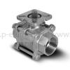 Клапан шаровой, VALMA, BAV-S316-3P-T-040