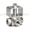 Клапан шаровой, VALMA, BAV-S304-HP-T-015-I